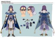 Echoes Priestess Concept