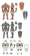 Armor Knight concept RD