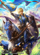 Clive as a Cavalier in Fire Emblem 0 (Cipher)