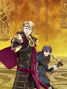 Lucina with Xander