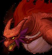 Fire Dragon Echoes portrait