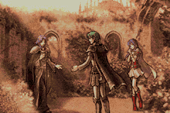 File:Eirika, Ephraim and Lyon.PNG