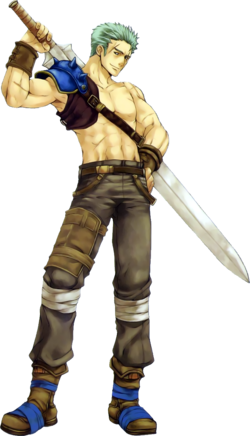 Deke (Binding Blade Artwork)