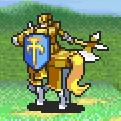 Lowen as a Paladin with an Axe
