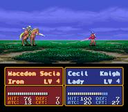 FE3 Lady Sword In-Battle