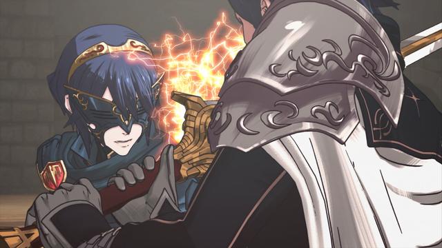 File:Lucina fighting Chrom cutscene 1.png