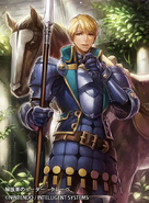 Clive as a Cavalier in Fire Emblem 0 (Cipher) 2