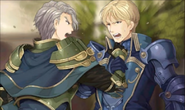 Fernand yelling at Clive