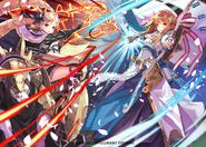 Elise&Sakura artwork Cipher TCG