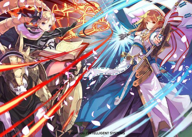 File:Elise&Sakura artwork Cipher TCG.jpg