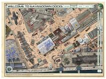 A eavesdown docks