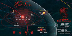 Map of The Verse Zhu Que
