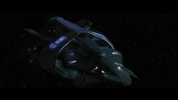 Alliance warship