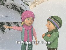 Pontypandy Polar Bear