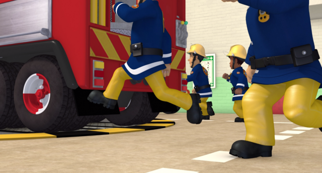 File:Firefighters get to the fire engines.png