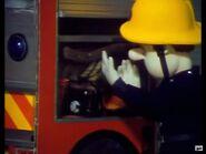 Gas detector in hose reel locker
