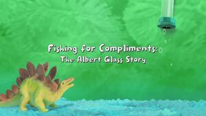 Fishing For Compliments The Albert Glass Story title card
