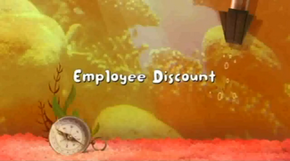 Employee Discount title card