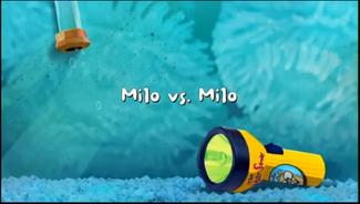 Milo vs. Milo title card