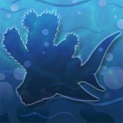 Cactus-shark hidden