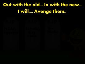 Avenge them