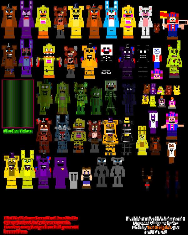 Animatronics minigame