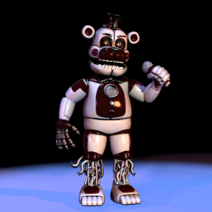 Scooped Funtime Freddy Prototype (with background)