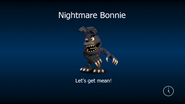 Nightmare bonnie load