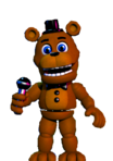 this is Freddy when first seen in the game.