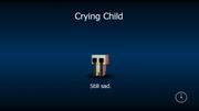 Crying child load