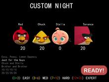 Custom Night 2-0