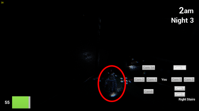 File:The right stairs with sandy here (2) (circled).png