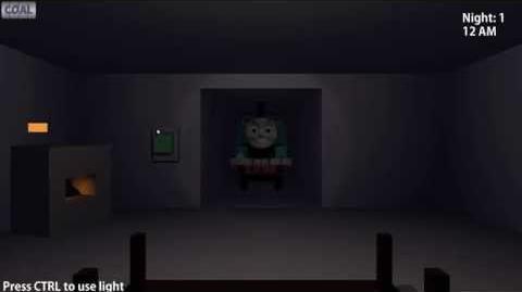 Five Nights at Thomas's Gameplay