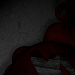 An unused texture of Po going back to the Spare Room through the Kitchen Vent.