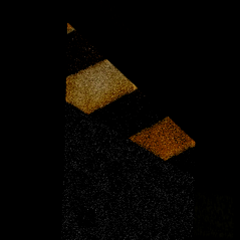 The closed left door from the FNaTL 3 beta.