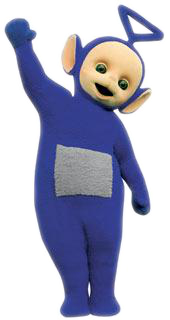 Tinky Winky from the show