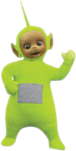 Dipsy from the show
