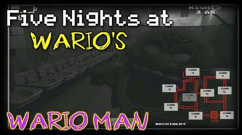 Five Nights at Wario's- Wario Man in the Bathroom