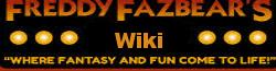 Five Nights at Freddipedia wordmark
