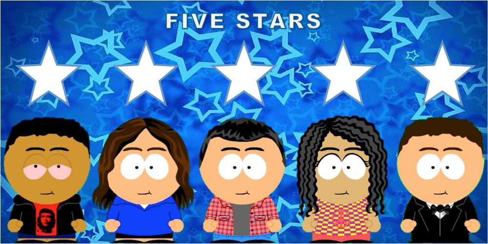 FiveStarsPoster