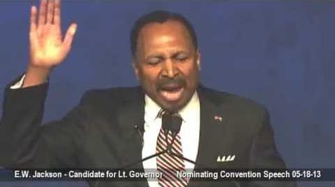 E.W. Jackson's Convention Speech - May 18th, 2013