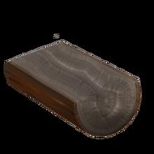 Raw ebony wood