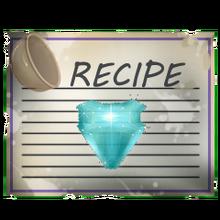 Special aquamarine gem recipe