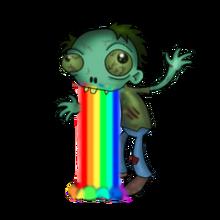 Fabulous pet zombie