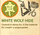 White Wolf Hide