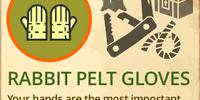 Rabbit Pelt Gloves