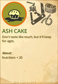 Ashcake