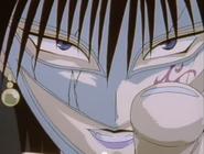 Kurei's face