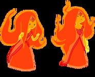 Flame princess 2 by luuandherdraws-d4sr2yv