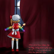 Flandre in the mansion